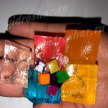 """Кубики """"Orbeez"""" (Орбиз), цветные, 1 шт"""
