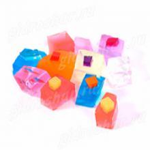 """Кубики """"Orbeez"""" (Орбиз), цветные, 10 шт"""