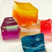 """Кубики """"Orbeez"""" (Орбиз), цветные, 20 шт"""