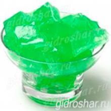 """Зеленые гидрогелевые кубики """"Orbeez"""" (Орбиз), 20 шт"""