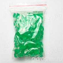 """Зеленые гидрогелевые кубики """"Orbeez"""" (Орбиз), 50 шт"""