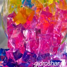 "Розовые гидрогелевые кубики ""Orbeez"" (Орбиз), 20 шт"