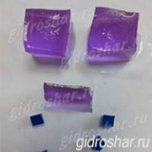 """Фиолетовые гидрогелевые кубики """"Orbeez"""" (Орбиз), 1 шт"""