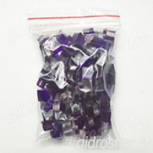 """Фиолетовые гидрогелевые кубики """"Orbeez"""" (Орбиз), 50 шт"""