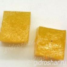 "Желтые гидрогелевые кубики ""Orbeez"" (Орбиз), 10 шт"