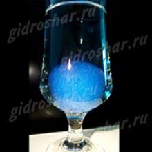 """Шарики """"Orbeez"""" (Орбиз) перламутровые синие 35-40 мм, 65 шт"""