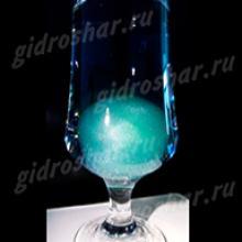 """Шарики """"Orbeez"""" (Орбиз) перламутровые зеленые 35-40 мм, 5 шт"""