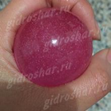 """Шарики """"Orbeez"""" (Орбиз) перламутровые темно-розовые 35-40 мм, 1 шт"""