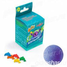 Бурлящий шар Baffy с сюрпризом для ванны, синий