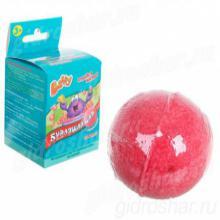 Бурлящий шар Baffy с сюрпризом для ванны, красный