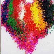 Разноцветные шарики Орбис (Orbeez) растущие в воде 13-15 мм, 1000 шт