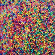 Разноцветные шарики Орбис (Orbeez) растущие в воде 13-15 мм, 2000 шт