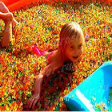 Гидрогель разноцветный 15 мм для целой ванны, 1 кг