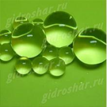 Пробник гидрогеля салатового 11-13 мм, от 1 шт