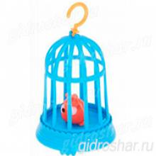 """Растущие животные """"Птичка в клетке"""""""