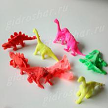 Большие гидрогелевые фигурки Динозавров, 10 шт
