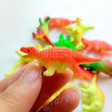 Красочные динозавры растущие в воде, 1 шт