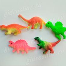 Красочные динозавры растущие в воде, 10 шт