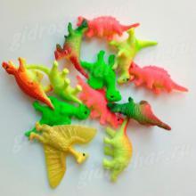 Красочные динозавры растущие в воде, 5 шт