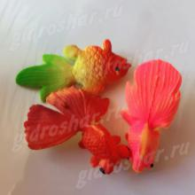 Красочная рыбка растущая в воде, 5 шт