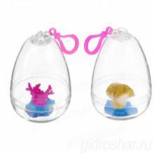 """Растущие игрушки """"Кораллы"""", в прозрачном яйце, 6 шт"""