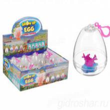 """Растущие игрушки """"Кораллы"""", в прозрачном яйце, 12 шт"""