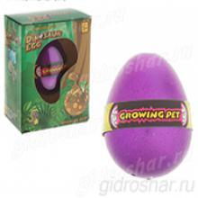 Яйцо с растущим Динозавром  10,5х7,5х5 см, 1 шт