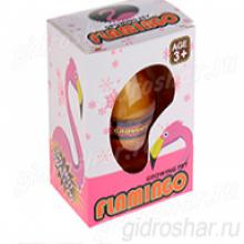 Яйцо с растущим Фламинго  10,5х7,5х5 см, 1 шт