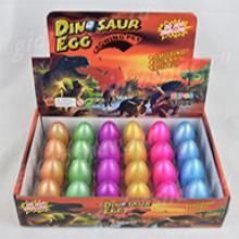 Яйцо среднее цветное в трещенку 5,5х4,5 см, 12 шт