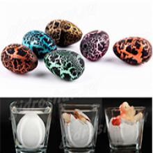 Яйцо малое черное в крапинку 2х3 см, 24 шт