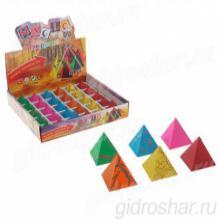 """Растущие фигурки """"Загадка пирамиды"""" 3,3х3,5 см, 30 шт"""