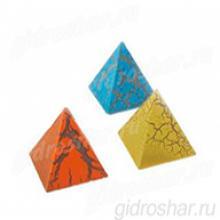 """Растущие фигурки """"Загадка пирамиды"""" 3,3х3,5 см, 3 шт"""