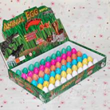 Набор яиц рептилий 2х3 см (крокодилы, ящерицы, змеи, земноводные), 60 шт