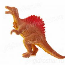 Растущий в воде Коричневый Спинозавр, 1 шт