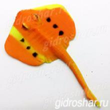 Растущий в воде Морской скат оранжевый, 1 шт