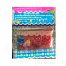 Гидрогель розовый 11-13 мм, 300 шт