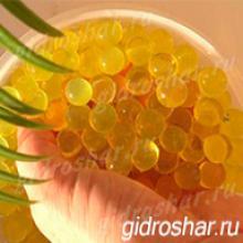 Гидрогель золотой 13-15 мм, 2000 шт