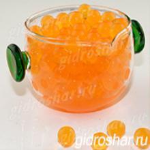 Гидрогель оранжевый 13-15 мм, 1000 шт