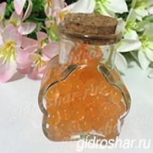 Гидрогель оранжевый 13-15 мм, 120 шт