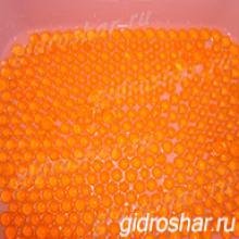 Гидрогель оранжевый 13-15 мм, 5000 шт
