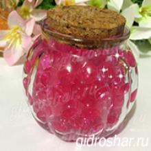 Гидрогель розовый 13-15 мм, 1000 шт