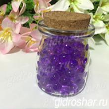 Гидрогель фиолетовый 13-15 мм, 120 шт