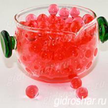 Гидрогель красный 13-15 мм, 2000 шт