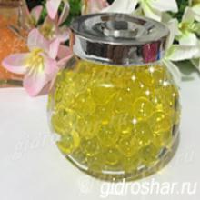 Гидрогель желтый 13-15 мм, 120 шт