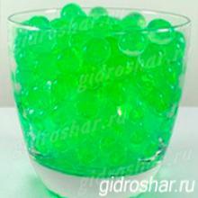 Гидрогель салатовый 15-20 мм, 120 шт