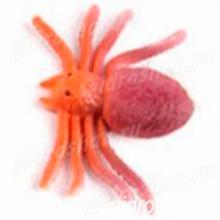 Растущий в воде паук коричневый с оранжевым, 1 шт