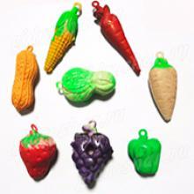 Растущие в воде укаршения из фркутов, ягод, овошей, 24 шт