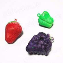 Растущие в воде укаршения из фркутов, ягод, овошей, 5 шт