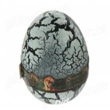 "Лизун ""Яйцо с динозавром"" твёрдый, серый"