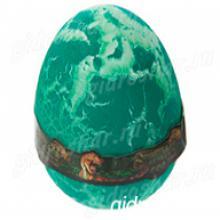 """Лизун """"Яйцо с динозавром"""" твёрдый, зеленый"""